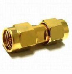 Vysokofrekvenční konektory: Adapter SMA-603-TGG SMAm-SMAm-Schmid-M: Vysokofrekvenční konektory SMA adapter Plug/Male - Plug/Male