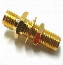 Vysokofrekvenční konektor: SMA-605-TGG-Schmid-M: Vysokofrekvenční konektor SMA adapter = Huber Suhner 34_SMA-50-0-3/111_NE 22641297 = Rosenberger 32K101-KH0L5