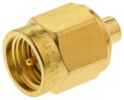 Vysokofrekvenční konektor: SMA-7102-TGG-Schmid-M: Vysokofrekvenční konektor SMA male/plug na Semi-rigid kabel 405/U = Huber Suhner 11_SMA-50-2-15/111_NH 22645898 = Rosenberger 32S102-271L5