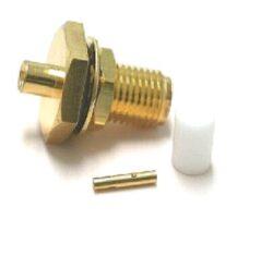 Vysokofrekvenční konektor: SMA-7205-TGG-Schmid-M: Vysokofrekvenční konektor SMA male/plug na Semi-rigid kabel