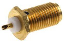 Vysokofrekvenční konektor: SMA-7206-TGG-Schmid-M: Vysokofrekvenční konektor SMA female/jack  na Semi-rigid kabel RG 405/U (0,085) = Rosenberger 32K601-271L5 = Huber Suhner 24_SMA-50-2-15/111_NH 22645490