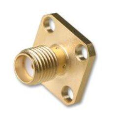 Vysokofrekvenční konektor: SMA-7207-TGG-Schmid-M: Vysokofrekvenční konektor SMA female/jack  na Semi-rigid kabel RG 402/U (0,141) = Huber Suhner 25_ SMA-50-3-25/111_NH 22644717 = Rosenberger 32K401-272L5