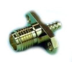 Vysokofrekvenční konektor:SMA-7210-TGG-Schmid-M: Vysokofrekvenční konektor SMA female/jack  na Semi-rigid kabel RG 405/U (0,085) = Huber Suhner 25_SMA-50-2-25/111_NE 22641493