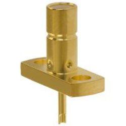 Vysokofrekvenční konektor: SMB-3202-TGG-Schmid-M: Vysokofrekvenční konektor SMB female/jack panelový 2 hole Flange ~ Amphenol 142166