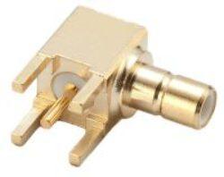 Vysokofrekvenční konektor: SMB-01-TGG-Schmid-M: Vysokofrekvenční konektor SMB: Vysokofrekvenční konektor SMB female/jack do DPS