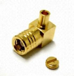 Vysokofrekvenční konektor: SMB-7102-TGG-Schmid-M: Vysokofrekvenční konektor SMB male/plug na Semi-rigid kabel RG 405/U (0,085) ~ Huber Suhner 16_SMB-50-2-23/111NE 22644079 ~ Radiall R114169000 ~ Rosenberger 59K214-271L5