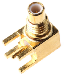 Vysokofrekvenční konektor: SMC-5202a-TGG-Schmid-M: Vysokofrekvenční konektory SMC female/jack do DPS ~ Huber Suhner 85_SMC-50-0-1/111_NE 22640326 ~ 22652987~ Amhenol 903 -378J-52A ~ Amhenol 152123 ~ Multicomp 26-10-TGG ~ Radiall R1126650