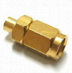 Coaxial Connector: SMC-7101-TGG-Schmid-M: RF Connector SMC Straight Plug for RG 405/u (0,085); Huber+Suhner 11 SMC-50-2-13/111NH 22650675