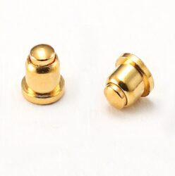 "SMD Contact D3L5,1- Contact5U"" - material brass 3604, gold-plated 5U´´"