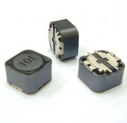 SSPC127H-101M-SMD Power Inductor Shielded 12x12x8 100uH 3,5A 0,163Ohm