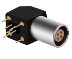 Connector: 00BZ11G02HLN-MOCO: Connector 00BZ11G02HLN 00B series 2 pin elbow socket