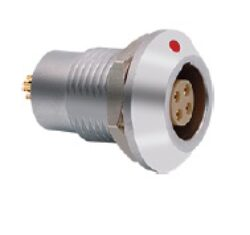 Connector: 1BZ7G04CLL - MOCO: Connector 1BZ7G04CLL 1B series 4 pin watertight socket