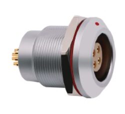 Connector: 2KZ7G10CLL-MOCO: Connector 2KZ7G10CLL 2K series 10 pin vacuum-tight socket
