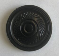 Speaker SBF45-3T - Speaker 8 Ohm; d=45mm; t=4,8mm; 88dB; 0,25W