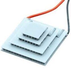 Termoelektrický modul: Schmid-M SM TH C4-127-124                                -Schmid-M: Termoelektrický modul bottom 19.3x20.8mm.top8.5x13,6.5W.Imax4.7A,DT128°