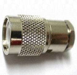 Vysokofrekvenční konektor: TNC-2101-TGN-Schmid-M: Vysokofrekvenční konektor TNC male/plug šroubovací na kabel RG 58, 58A, 141A