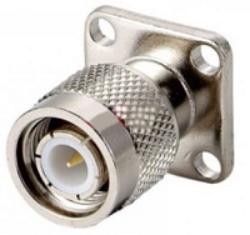 Vysokofrekvenční konektor: TNC-3103-TGN-Schmid-M: Vysokofrekvenční konektor TNC male/plug panelový