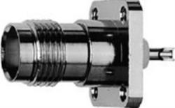 Vysokofrekvenční konektor: TNC-3201-TGN-Schmid-M: Vysokofrekvenční konektor TNC female/jack panelový