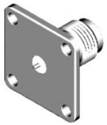 Vysokofrekvenční konektor: TNC-3203-TGN-Schmid-M: Vysokofrekvenční konektor TNC female/jack panelový