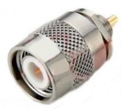 Vysokofrekvenční konektor: TNC-4106-TGN-Schmid-M: Vysokofrekvenční konektor TNC male/plug bulkhead