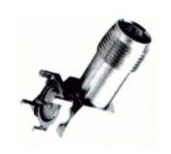 Vysokofrekvenční konektor: TNC-5201-TGN-Schmid-M: Vysokofrekvenční konektor TNC female/jack do DPS 90° ~ Molex 73216-2710 ~ AMP 5227839-1 ~ Molex 73216-2730