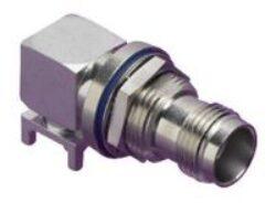 Vysokofrekvenční konektor: TNC-5202-TGN-Schmid-M: Vysokofrekvenční konektor TNC female/jack do DPS