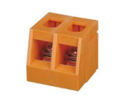 Trafo svorka: TSB2.5-02P-11-00A(H)-Deagson: Trafo svorka TSB2.5-02P-11-00A(H) RM9,5mm; 2Pólová; 250V; 24A; 28.15 x 19,00mm; Šedá