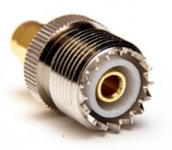 Mini UHFj-SMAp-623-TGN-Schmid-M: Vysokofrekvenční adapter Mini UHF Jack - SMA Plug