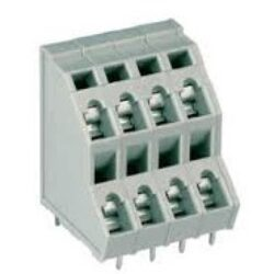 MPX120-50812 - DECA: Spring Terminal Block Double-deck  RM 5,08mm 12 Poles, 10A/300VDC, 10A/300VDC, H=26,5mm, B=21,00mm Alternative: WAGO 736-306