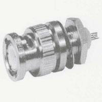 RF Coaxial Connector BNC 75 OhmMale/Plug Bulkhead Mount