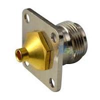 RF Coaxial Connector N Female/Jack for Semi-rigid