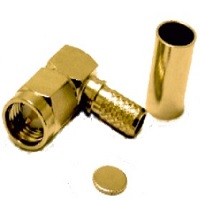 RF Coaxial Connectors SMA Male/Plug Crimp For Cable