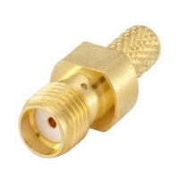 RF Coaxial Connector SMA Female/Jack  Crimp For Cable