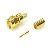 RF Coaxial Connector SMC 75 Ohm male/plug