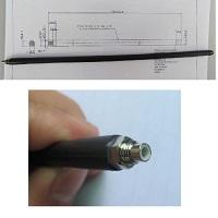 Antény 0-1GHz s SMC konektorem