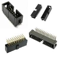 Konektory IDC do DPS RM2,54x2,54mm