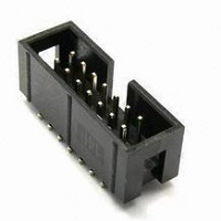 Zásuvky IDC do DPS RM 2,54x2,54mm, SMD