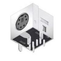 Mini DIN Socket do DPS stíněný