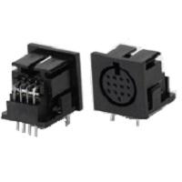 konektory Mini Din Jack plastové