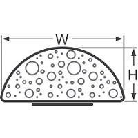 EMC FOF D-profil mezera 0-4,99mm