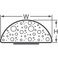 EMC FOF D-profil mezera 5-9,99mm