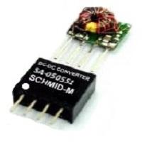DC/DC měniče 0,5W SIL